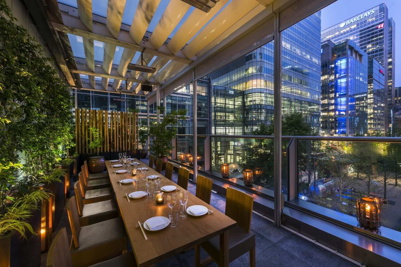 Canary Wharf London Restaurant Roka London
